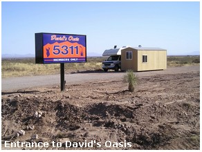 David's Oasis Gay Campground, Arizona