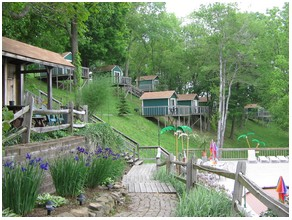 Cabins at Roseland Gay Campground Resort