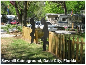 Sawmill Gay Campground, Florida